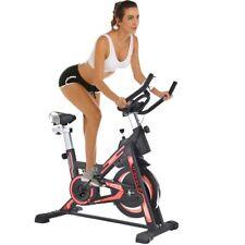 Cyclette Spinning Bike Allenamento Bici Cardio Fitness Bicicletta Palestra Rosso