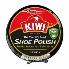 Kiwi Leather Shoe Boot Polish Rich Glossy Shine Wax Protection  Black 23 ml NEW