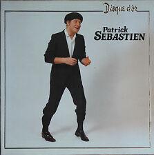PATRICK SEBASTIEN   DISQUE D'OR  33T  LP