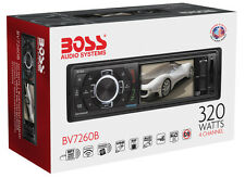 "Boss BV7260B Mechless USB/MP3/AM/FM Bluetooth Receiver with 3.2"" LCD Display"