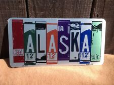 Alaska License Plate Art Wholesale Novelty Bar Wall Decor