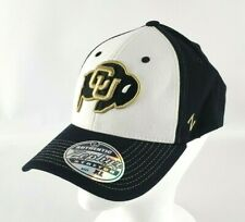 Colorado University CU Buffaloes Zephyr Stretch Fitted Adult Cap Hat XL NEW