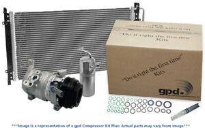 A/C Compressor-Compressor Kit with Cond New Global fits 2007 Dodge Nitro 3.7L-V6