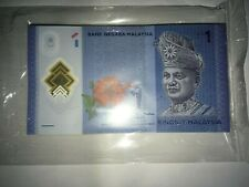 Malaysia Ibrahim RM1 LK7944401-500 100pcs in stack unc