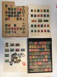 Canada - Small lot of old stamps - 2 scans