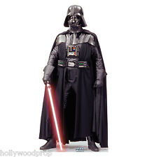 DARTH VADER STAR WARS LIFESIZE CARDBOARD STANDUP STANDEE CUTOUT POSTER FIGURE