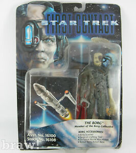 Vintage Playmates Star Trek First Contact The Borg Figure 1996 Sealed on Card