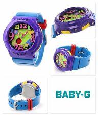 BGA-131-6B Purple CASIO BABY-G multi-dimensional  Neon Illuminator 100M WR Lady