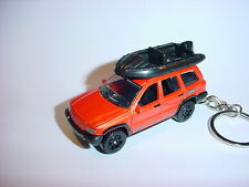 HOT 3D JEEP GRAND CHEROKEE CUSTOM KEYCHAIN keyring key 4x4 offroad CANYON FUN!!!