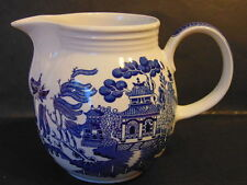 Ironstone Decorative Willow Pattern Transfer Ware Pottery