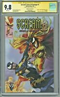 Scream Curse of Carnage #1 CGC 9.8 SS Signed Mike Mayhew Variant Cover Edition