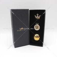 [VERTINI] Gold Golf Ball (24K Gold Plated) & Ball Marker Set VGBS02