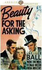 Beauty for The Asking DVD Full Frame Mono Sound Amaray Case