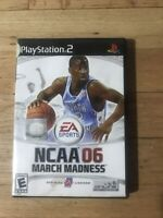 NCAA March Madness 06 W Manual PS2 PlayStation 2 Game