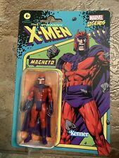 Hasbro Kenner Marvel Legends Retro Magneto 3.75? Figure in hand