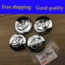 4xPCS TOYOTA Avalon Corolla Camry Highland Chrome Wheel Center Hub Cap 62MM