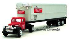 1941-46' Chevy Semi STRICKLAND TRANSPORTATION HO 1/87 Classic Metal Works 31176