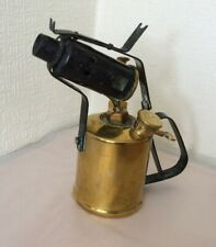 VINTAGE PARAFFIN GOVERNOR BLOW LAMP IN BRASS