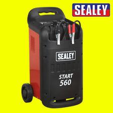 Sealey Profesional Coche/comercial Arrancador De/Cargador 12/24V 230 V-START 560