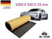 2 Stk Selbstklebend Dämmschaum Dämm-Matte Dämmung Autodämmung KFZ PKW Motorhaube