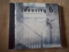 """IDENTITY SIX"" VARIOUS ARTISTS CD 1998 HATEBREED SHADOWS FALL SAMAEL EYEHATEGOD"