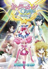 DVD Sailor Moon Crystal Complete Season 3 (Vol. 1 - 13 End) English Subtitle