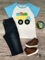 Toddler, Boys' Dump Truck of Eggs Easter Short Sleeve T-Shirt 2T 3T 4T 5 6 7 8