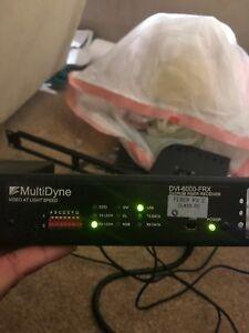 Multidyne DVI-6000-FRX DVI/RGB fiber reciever