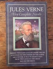Jules Verne ( Five Complete Novels ) Gramercy Books 1983, Great condition