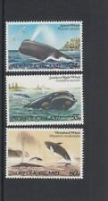 NORFOLK Island 1982 WHALES Marine Life set of 3  MNH - Wildlife