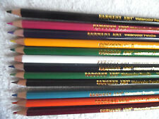 """LOT 12 WATERCOLOR PENCILS SARGENT ART  Not in a Box Approx 6.5-7"""" NEW"""