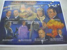 Tanzania  famous people of  20th  Century Churchill Fleming  I201804