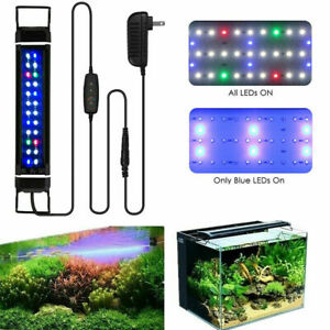 28-46 cm Aquarium LED Lighting Full Spectrum Marine Aqua Fish Tank Light