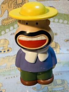 Uncle Carl Figure Piggy Bank Coin Bank Soft Vinyl Meiji Retro Vintage Toy Japan