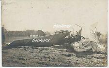 Fliegertruppe deutsches Flugzeug Notlandung/crash-Unfall  1.WK (t580)