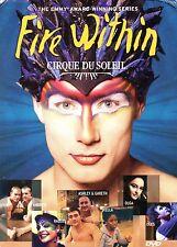 Cirque du Soleil - Fire Within (4 Discs)-DVD - Region 1 -Brand New-Still Sealed