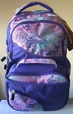 High Sierra Kenley Backpack+Lunch Kit 77676 Purple School Bag
