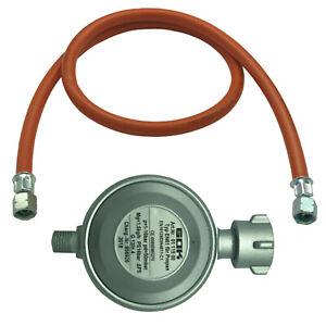 Gas Schlauch Gasregler für Gasgrills + Gaskocher Gasdruckminderer Propanschlauch
