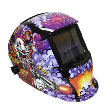 Auto Darkening Welding Helmet Mask Mig Arc Tig Welder Joker Style