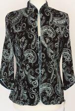 Alex Evenings NEW Purple Womens Size Small Glitter Twinset Sweater $139