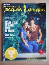 JACQUES DOUGLAS n°108 1974 con Poster Michela ROC  ed. Lancio  [G576]