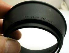 Olympus 35-105mm f3.5-4.5 OM Rubber Lens Hood Shade slip on 55mm rim