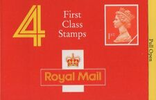 Gb Qeii 1990 Barcode Nvi Cylinder Booklet - 4 x 1st Cl Hb3