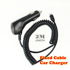 Car Charger for Apple iPhone 8 8plus X iPad Mini Cigarette Lighter Fixed Cable