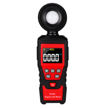 Digital Lcd Lux Light Meter With 0200000 Lux Luminance Tester Handheld Meter