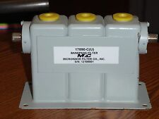 Microwave Filter Co 17890 Cu Bandpass Filter For Lte