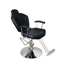Hydraulic Reclining Barber Chair Shampoo Salon Equipment Styling Beauty Spa  00006000