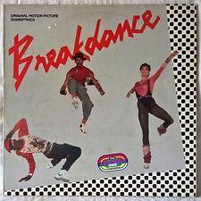 BREAKDANCE ORIGINAL MOTION PICTURE SOUNDTRACK LP POLYDOR