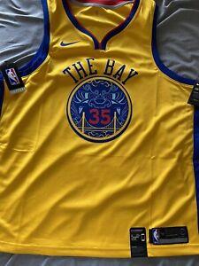 NWT Kevin Durant 2018 Swingman Jersey Golden State Warriors Nike Size 56 XXL