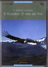El Reino Animal. El Ecuador: El reto del frío. DVD